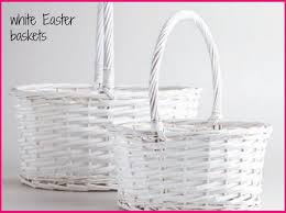 wicker easter baskets what to do with your easter decorations for the rest of the year