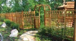 pergola with trellis garden fencing garden arbors pergolas gates privacy lattice