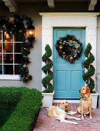 Christmas Topiaries Amazing Christmas Door Decorations The Latest Home Decor Ideas