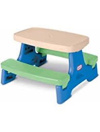 fisher price childrens picnic table amazon com outdoor furniture toys games chairs picnic tables