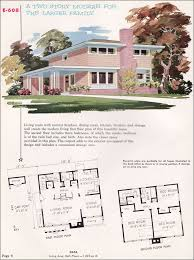 Mid Century Modern House Plans  National Plan Service Plan - Mid century modern home design plans