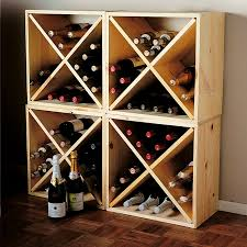 pine cube wine rack wooden cubes wine rack and wine
