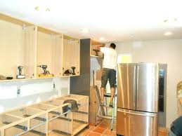 Installing A Kitchen Island Install Kitchen Island Meetmargo Co