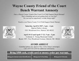 Arrest Warrant Vs Bench Warrant Updates In Michigan Family Law Child Support