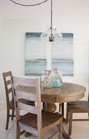 coastal dining room table coastal dining room decor the lilypad cottage
