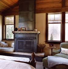 rustic fireplace decorating ideas family room traditional with