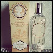 Parfum De Provence Eau De Parfum Jeanne En Provence Fleur Mandarine Et Cédrat Miss