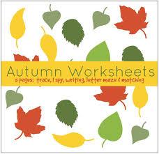 number names worksheets fall worksheets for kids free
