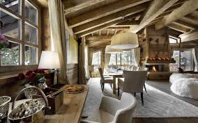 Rustic Interiors by The Chalet Les Gentianes 1850 In Courchevel The French Alps