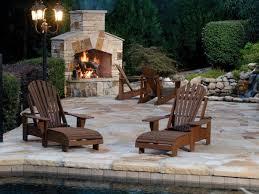 outdoor wood burning fireplace hgtv