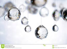 hanging crystals hanging balls royalty free stock photography image 26597577