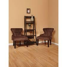 ave six curves chocolate velvet accent chair cvs26 c12 home
