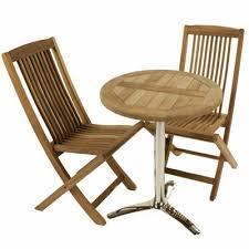 Tesco Bistro Table Buy Brackenstyle Teak Bistro Set Seats 2 From Our Wooden Garden
