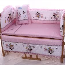 crib bedding set minnie creative ideas of baby cribs