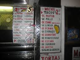 queens table food truck menu los cuatro vientos taco truck roosevelt ave woodside menu
