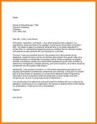 9 recent graduate cover letters letter of apeal