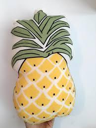 Pineapple Home Decor Aliexpress Com Buy Home Decor Cushion Sofa Pillow Vivid Fruit