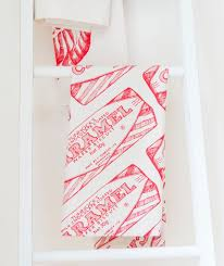 tunnock u0027s caramel wafer repeat tea towel gift ideas at gillian kyle