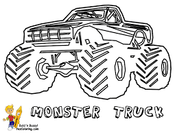 big boss truck coloring pictures foreign pickup trucks free