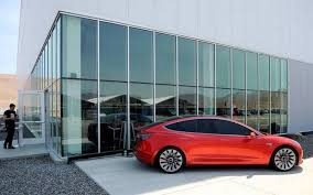 first tesla model 3 electric car to be out on july 28 the hindu