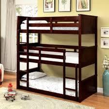 Bunk Bed For 3 Bunk Beds You Ll Wayfair