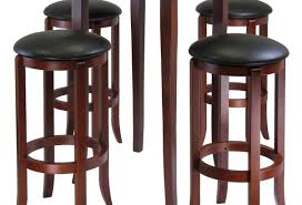 bar dining room inspiring round wood pub style dining table