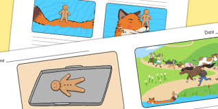 the gingerbread man storyboard template storyboard