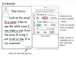 free reading comprehension worksheets for kindergarten worksheet