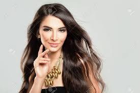 hispanic hair pics beautiful hispanic fashion model woman with dark hair and makeup