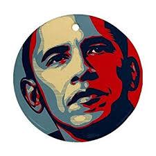 barack obama ornament porcelain great