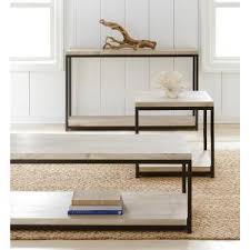 White Wash Coffee Table - home decorators collection anjou white wash console table