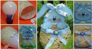 diy easter basket ideas diy easter basket out of yarn string home design garden
