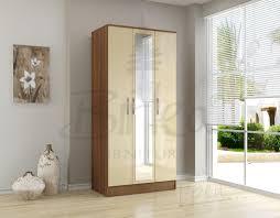 birlea lynx 4 drawer chest walnut u0026 cream high gloss 119 beds