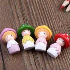 doll miniature resin crafts micro landscape