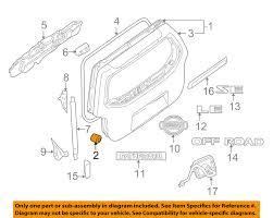nissan armada for sale portland oregon nissan oem 05 12 pathfinder lift gate bumper 90878ea500 ebay