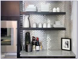 Stainless Steel Subway Tile Copper Stainless Steel X Metal - Stainless steel tile backsplash