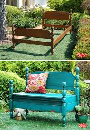 Diy Furniture Hacks Bench Bed Into Bench Best Bed Frame Bench Ideas Only Headboard