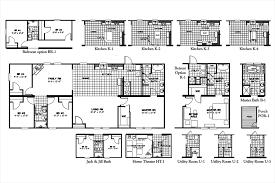 Oakwood Manufactured Homes Floor Plans Floorplan 3337 64x28 Ck4 2 Freedom Mod 58fre28644am Oakwood