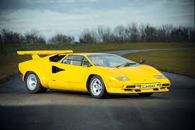 vintage lamborghini an incredibly rare 1981 lamborghini countach could be yours