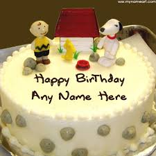 Advance Happy Birthday Wishes Cake With Name Wishes Greeting Card