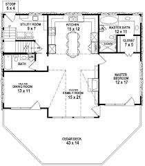 small 3 bedroom lake cabin with open and screened porch lake house floor plans best images about micro open walk out cabin