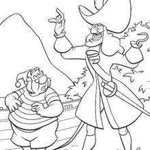 peter pan and tinkerbell coloring pages hellokids com