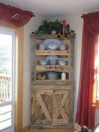 amish primitive pine corner kitchen hutch primitives pine and