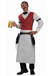 Halloween Party Costume Ideas Men Plus Size Saloon Bartender Costume Halloween For Evan