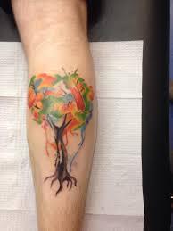 watercolor tree tattoos wrist designs torial