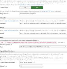 Spreadsheet Integration Spreadsheet Integration Ideal Extensions For Joomla