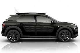 all black citroen c4 cactus gets all black onetone trim auto express