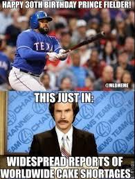 Prince Fielder Memes - mlb memes on twitter happy 30th birthday prince fielder http