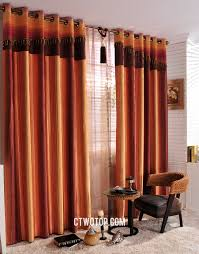 Burnt Orange Curtains Www Ctwotop Images Curtains 1462 Striped Conte