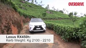 lexus india suv lexus rx lexus rx450h first drive review india youtube